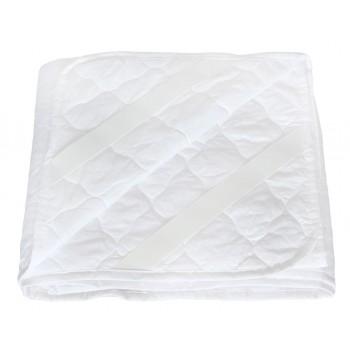 Наматрасник Dotinem Softtex 60*140 см сатин/антиаллергенное волокно на резинках детский арт.212831