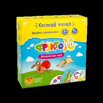 Игра настольная развивающая The Brainy Band Фрукто 10(УКР) детская арт.УКР002