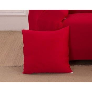 Наволочка декоративная Homytex 45*45 см замша красная арт.6-12544