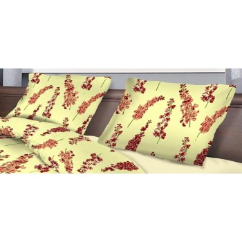 Наволочка на подушку Zastelli 70*70 см бязь Delphinium 2шт арт.10884