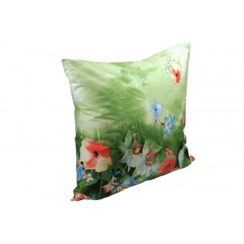 Наволочка на подушку Руно 70*70 см сатин арт.38.137_summer flowers