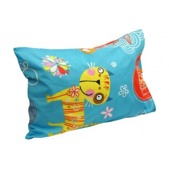 Наволочка на подушку Руно 50*70 см бязь арт.35.116_Yellow cat