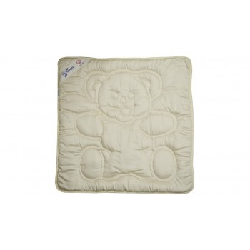 Одеяло Billerbeck Teddy детское 80*80 см модал-сатин/овечья шерсть облегченное арт.0151-01/00