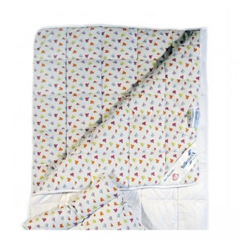 Одеяло Billerbeck Беби детское 110*140 см хлопок/антиаллергенное волокно теплое арт.0203-01/00
