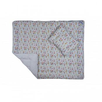 Комплект Billerbeck Беби детский одеяло 110*140 см и подушка 40*55 см хлопок/антиаллергенное волокно теплое арт.0203-02/00