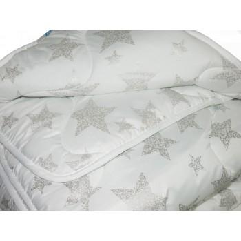 Одеяло Leleka-textile Био-пух Премиум полуторное 140*205 см микрофибра/искусственный лебяжий пух теплое М13