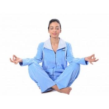 Пижама Arya 13315 женская велюровая р.XL Голубой арт.1351187