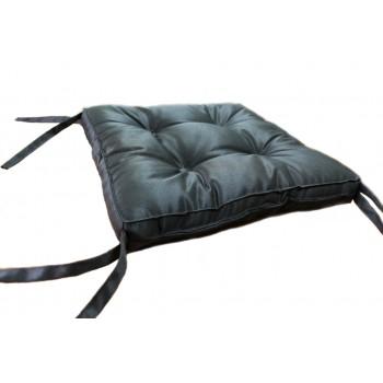 Подушка на табурет Dotinem Color 40*40*5 см коричневая арт.213109-1