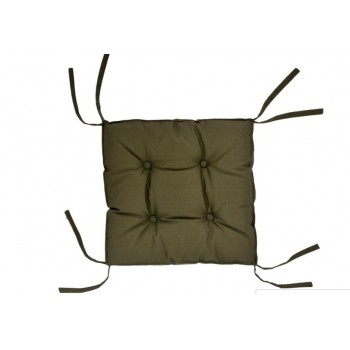Подушка на табурет Dotinem Color 40*40*5 см хаки арт.213109-5