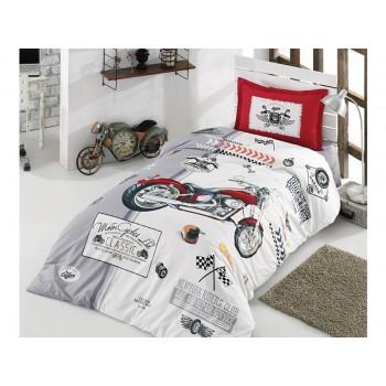 Комплект постельного белья Clasy Ranforce полуторный ранфорс подростковый арт.Arizona