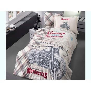 Комплект постельного белья Clasy Ranforce полуторный ранфорс подростковый арт.Speedway