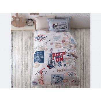 Комплект постельного белья Clasy Ranforce полуторный ранфорс подростковый арт.Freedom