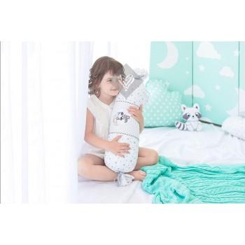 Подушка-валик Ideia Конфета 15*40 см бязь/антиаллергенное волокно детская арт.8-12875