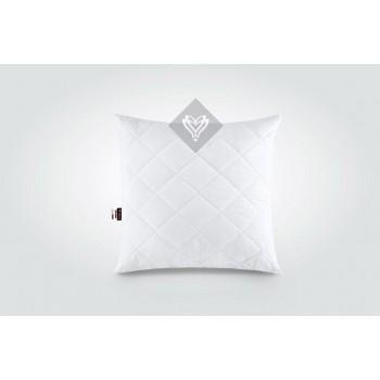 Подушка Ideia Comfort Standart+ 50*50 см микрофибра/силиконовые шарики белая арт.8-13396