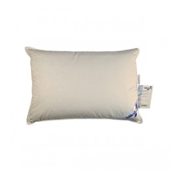 Подушка Billerbeck Жасмин модал-жаккард 68*68 см 90%пух/10%-перо тик/пуховая молочная арт.1596-80/68