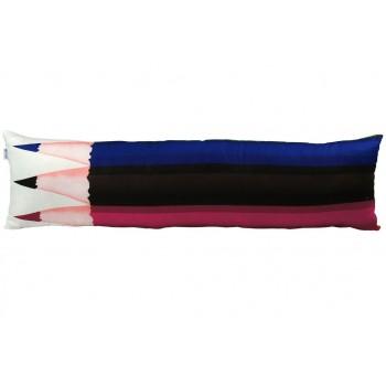 Подушка декоративная Руно Pencil 28*105 см сатин/силиконовые шарики арт.315.137Pencils