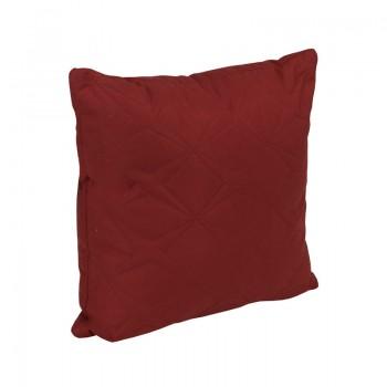 Подушка декоративная Руно Звезда 40*40 см микрофибра/силиконовые шарики бордовая арт.311.52_бордовий зірка
