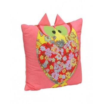 Подушка декоративная Руно Owl 40*40 см хлопок/силиконовые шарики арт.311Owl