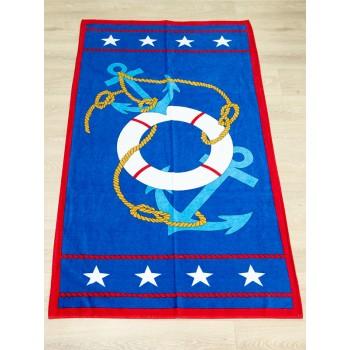 Полотенце пляжное Турция Anchor Stars 75*150 см