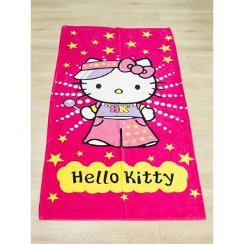 Полотенце пляжное Турция Hello Kitty 75*150 см детское