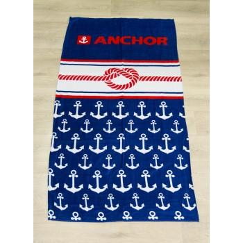 Полотенце пляжное Турция Anchor 2-1 75*150 см