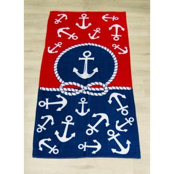 Полотенце пляжное Турция Anchor 2-2 75*150 см