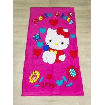 Полотенце пляжное Турция Kitty 75*150 см детское
