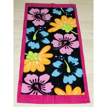 Полотенце пляжное Турция Flowers 75*150 см