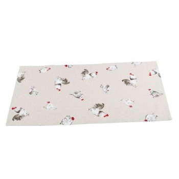 Полотенце для кухни LiMaSo Петушок с курочкой 35*60 см хлопковое арт.KU02.35x60