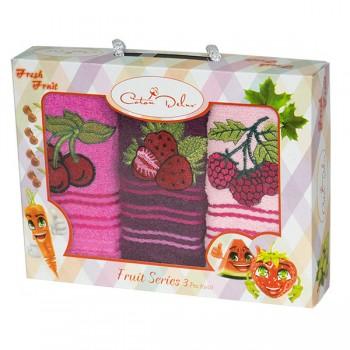 Набор полотенец для кухни Gursan Berry 30*50 см махровые в коробке 3шт