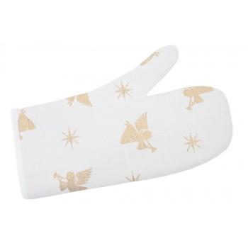 Прихватка-рукавица LiMaSo 17*30 см жаккардовая полиэстер новогодняя арт.FG02-EDEN033-RK.17х30