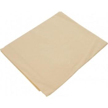 Простынь Zastelli полуторная 140*200*20 см бязь на резинке 12-0712 Vanilla арт.15939