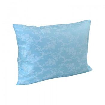 Наволочка на подушку Руно 50*70 см бязь арт.35.114Б_Блакитний вензель