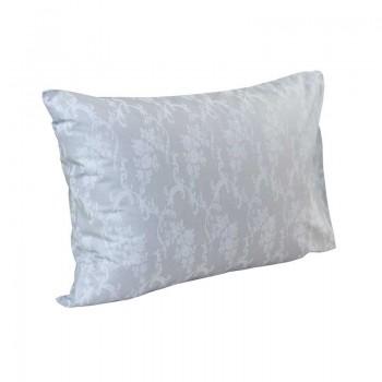 Наволочка на подушку Руно 50*70 см бязь арт.35.114Б_Сірий вензель