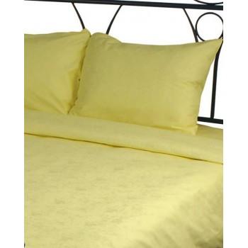 Наволочка на подушку Руно 50*70 см сатин-жаккард арт.35.137ЖК_жовтий