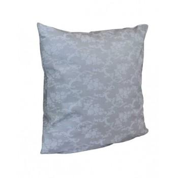 Наволочка на подушку Руно 70*70 см бязь арт.38.114Б_Сірий вензель