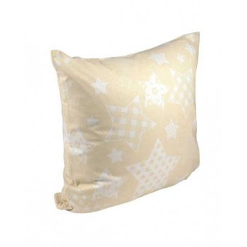 Наволочка на подушку Руно 70*70 см бязь арт.38.114Б_Beige star