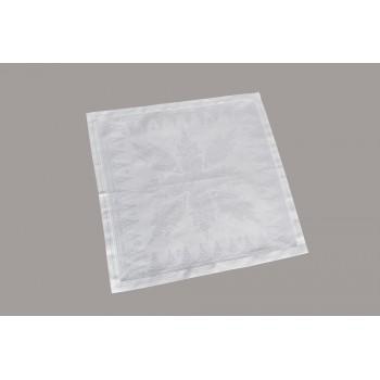 Салфетка для кухни LiMaSo 40*40 см дамаст белая арт.SRM01.40х40