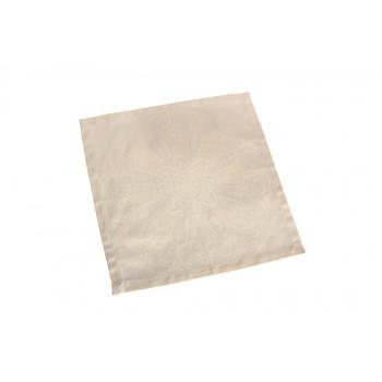 Салфетка для кухни LiMaSo 40*40 см дамаст кремовая арт.SRM03.40x40