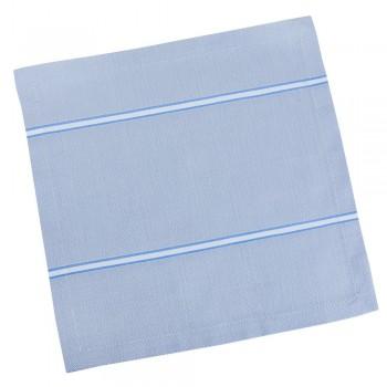 Салфетка для кухни LiMaSo 40*40 см дамаст светло-серая с полосками арт.SRM12.40x40