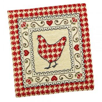 Салфетка-подкладка для кухни LiMaSo 17*18 см гобеленовая арт.RUNNER221-17.17х18