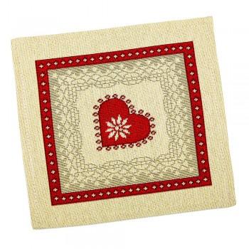 Салфетка-подкладка для кухни LiMaSo 17*18 см гобеленовая арт.RUNNER234-17.17х18