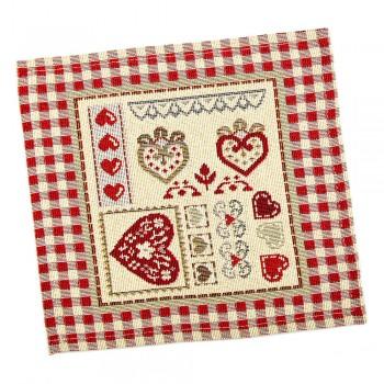 Салфетка-подкладка для кухни LiMaSo 17*18 см гобеленовая арт.RUNNER285-17.17х18