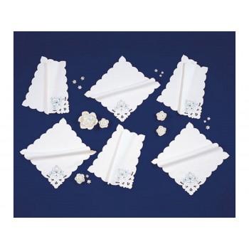 Набор салфеток для кухни Arya Kayaoglu Rose 28*28 см полиэстер 6шт арт.1154021