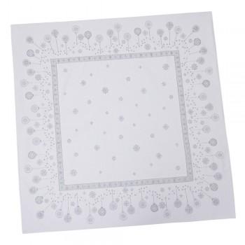 Скатерть LiMaSo 137*137 см жаккардовая полиэстер новогодняя арт.FS80-RUNNER015-137.137х137