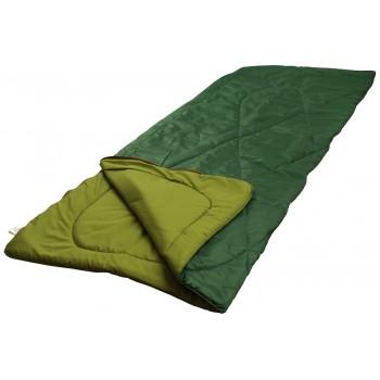 Мешок спальный Руно 200*85*2см 300 г/м2 1,95 кг зеленый арт.702.52L_зелений