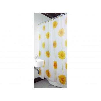 Шторка для ванной и душа Arya Sunflower 180*180 см арт.1352011
