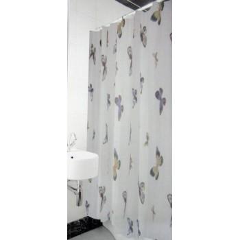Шторка для ванной и душа Arya Butterfly 180*180 см арт.1352001