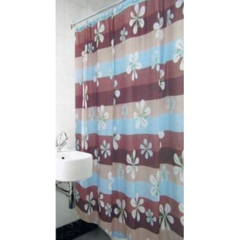 Шторка для ванной и душа Arya Violet 180*180 см арт.1353036