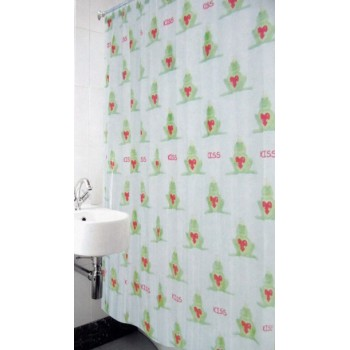 Шторка для ванной и душа Arya Frog 180*180 см арт.1353017